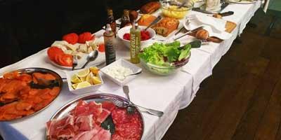 Buffet du Bistro Lyonnais